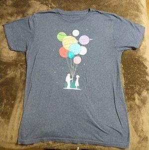 Threadless Shirts - Threadless  balloon planets t-shirt